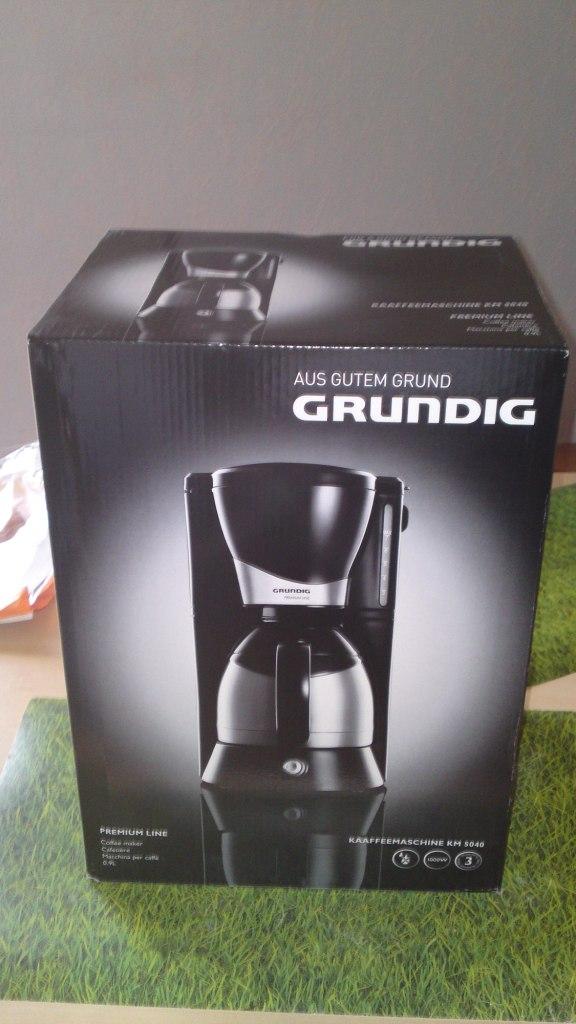 Grundig Kaffeemaschine KM 5040 von real  Ephelides Blog